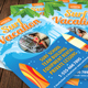 Summer Holiday Vacation Flyer Template 152