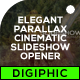 Elegant Parallax Cinematic Slideshow Opener - VideoHive Item for Sale