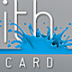 Splash Business Card - GraphicRiver Item for Sale