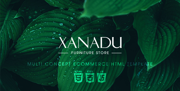 Xanadu – Multi Concept eCommerce HTML Template - Retail Site Templates