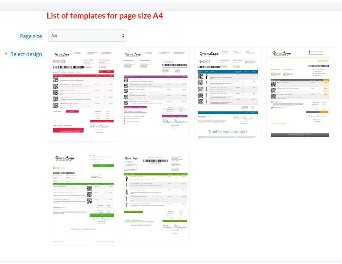 pdf invoice template builder edit invoice delivery template prestashop module by globosoftware. Black Bedroom Furniture Sets. Home Design Ideas