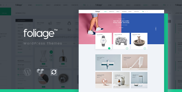 Foliage - Multipurpose WooCommerce WordPress Theme - WooCommerce eCommerce