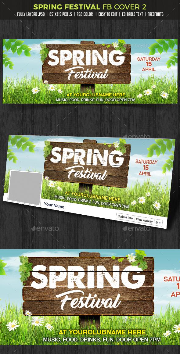 Spring Festival Facebook Cover - Facebook Timeline Covers Social Media