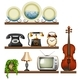 Vintage Collection with Entertainment Devices