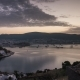 Sunrise Scenery in Bodrum with Boats Anchored in the Bay - VideoHive Item for Sale