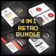 Retro Business Card Bundle - GraphicRiver Item for Sale