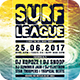 Surf League Flyer - GraphicRiver Item for Sale