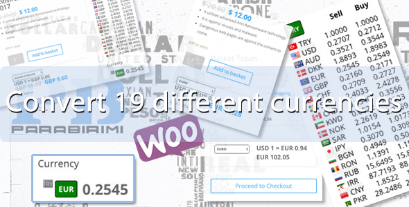 19 Different Currencies Instant Converter for WooCommerce - CodeCanyon Item for Sale