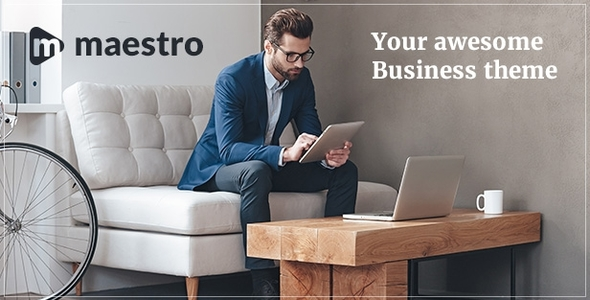 Maestro | Business WordPress Theme