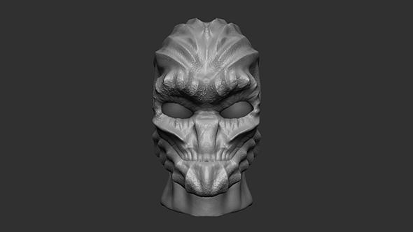 Monster Face - 3DOcean Item for Sale