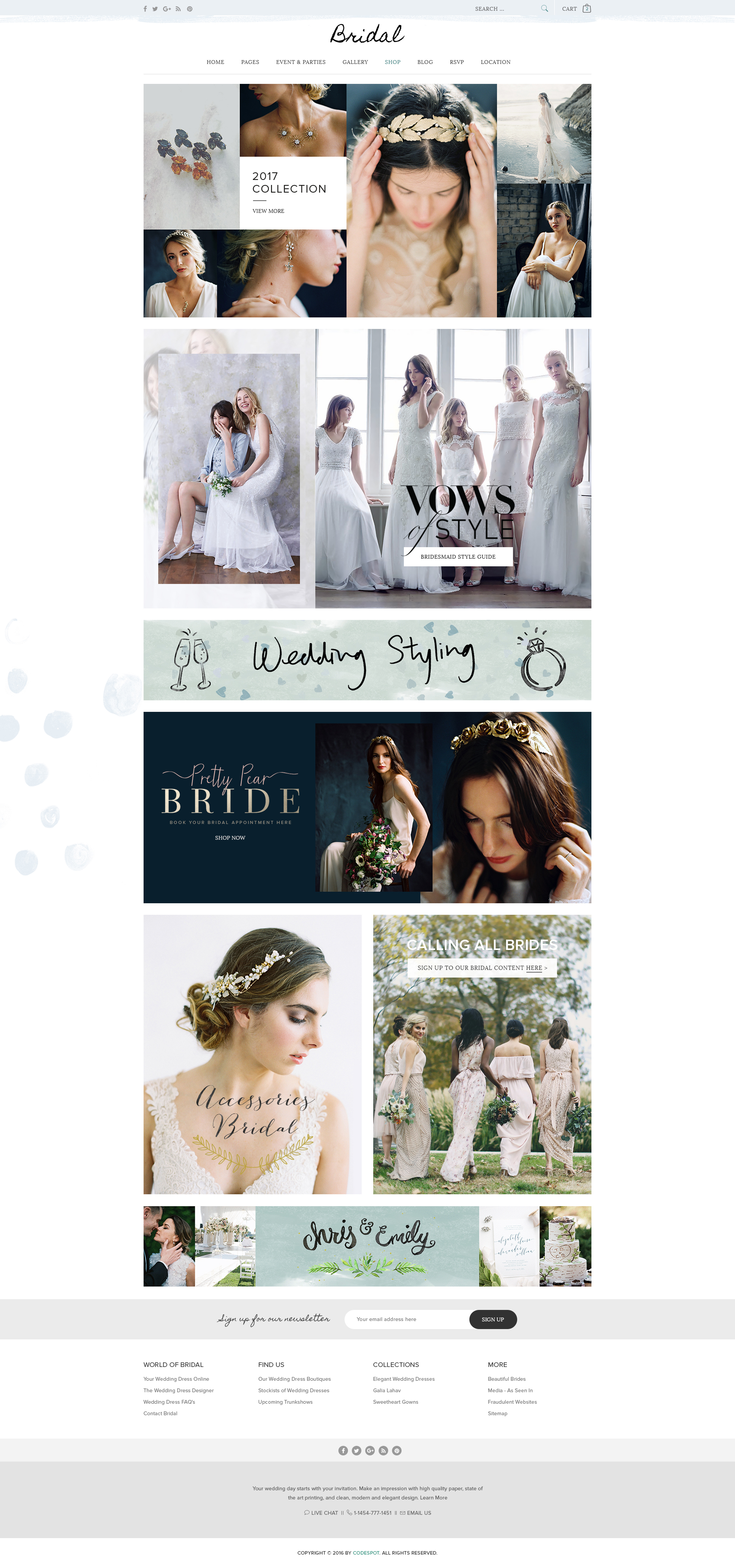 Bridal - Wedding WordPress Theme by tvlgiao | ThemeForest