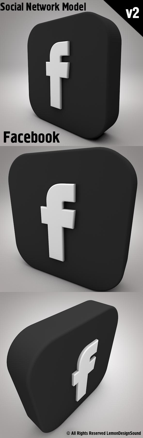 Facebook - 3DOcean Item for Sale