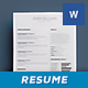 Simple Resume/Cv Volume 4 - GraphicRiver Item for Sale