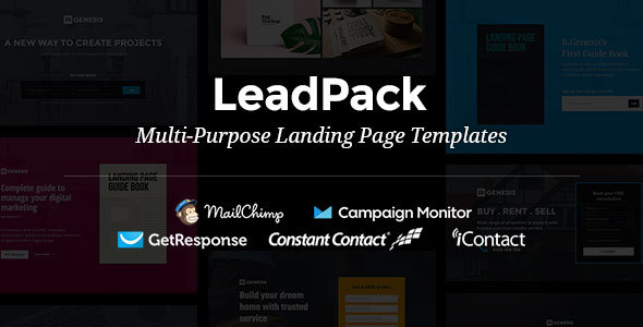 LeadPack – Multi-Purpose Landing Page Templates