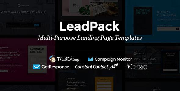 LeadPack – Multi-Purpose Landing Page Templates