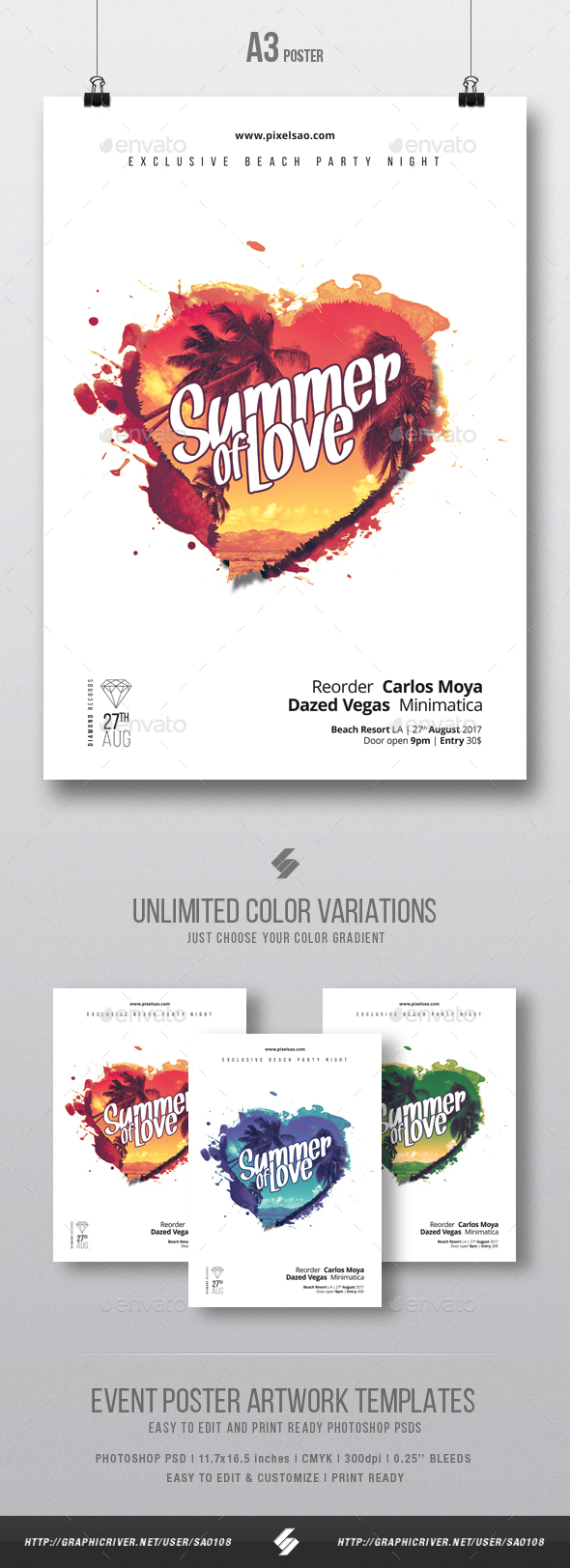 A3 and House Stationery and Design Templates from GraphicRiver