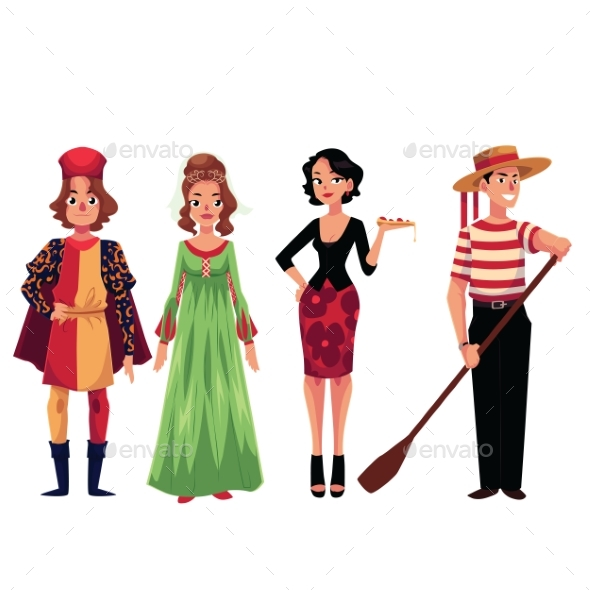 Print - People Characters