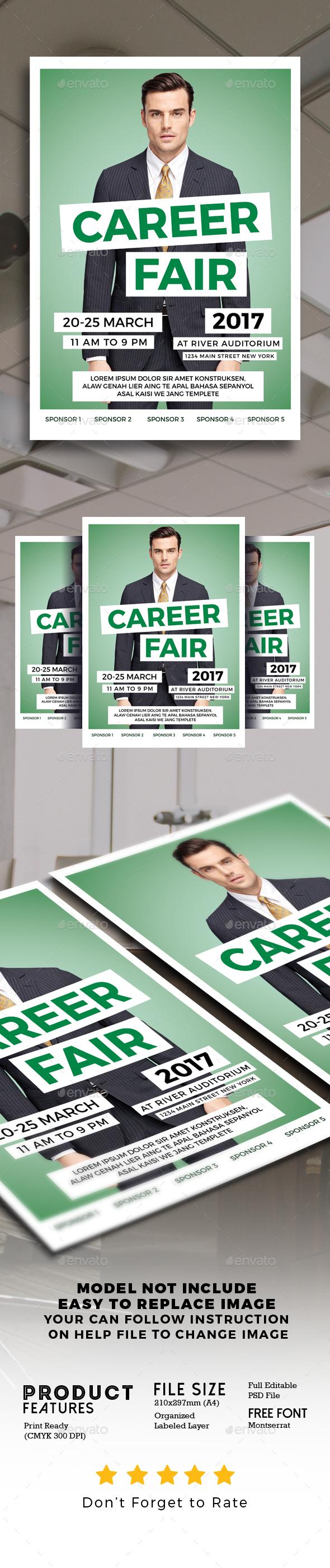 Career Fair Flyer - Events Flyers