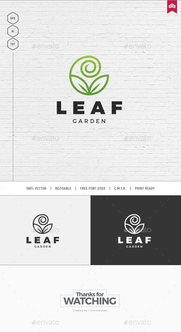 Leaf Logo - Nature Logo Templates