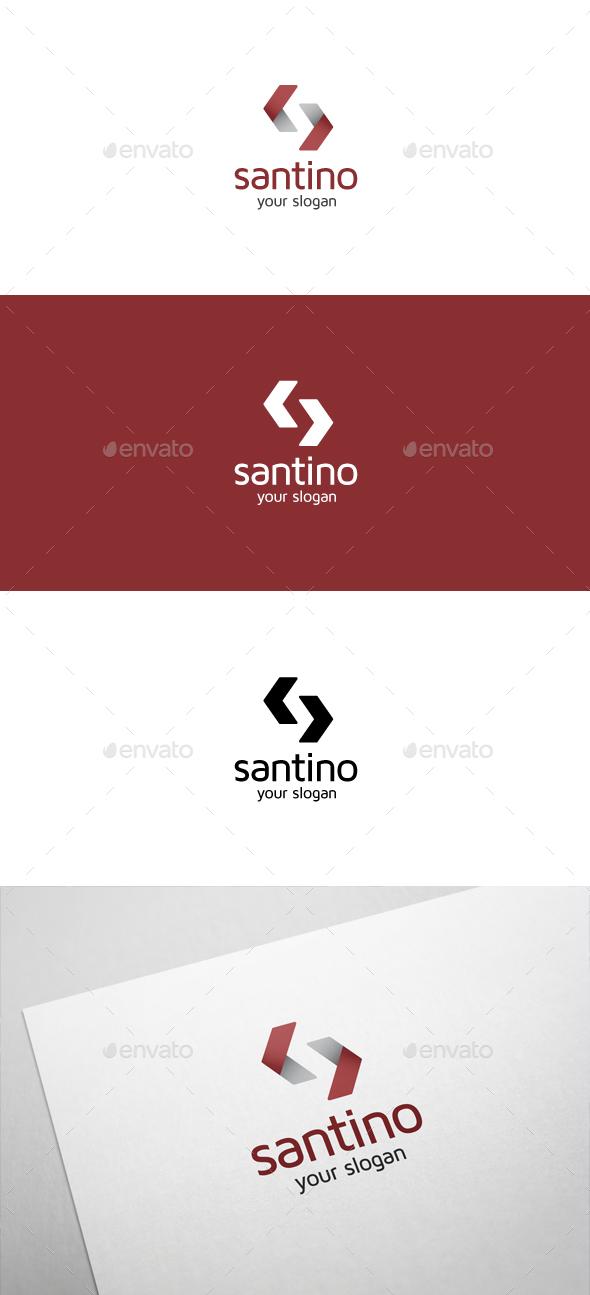 Santino S Letter Logo - Letters Logo Templates