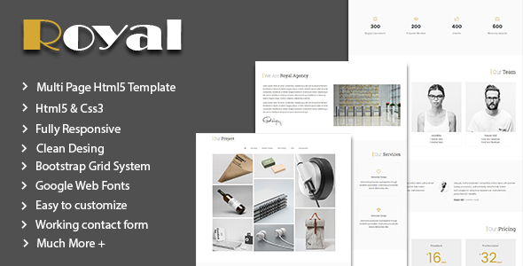 Royal – Corporate Business Template