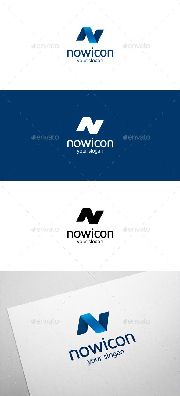 Nowicon N Letter Logo - Letters Logo Templates