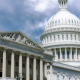 National Capitol Building With Us Flag - VideoHive Item for Sale