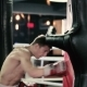 Man Boxing at the Gym. - VideoHive Item for Sale