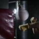 Guy Shirtless Trains in the Boxing Hall. - VideoHive Item for Sale