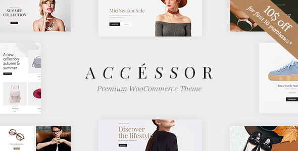 Accessories Shop – Online Store, WooCommece & Shopping WordPress Theme
