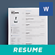 Clean Resume Vol. 3 - GraphicRiver Item for Sale