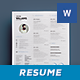 Simple Resume Vol. 2 - GraphicRiver Item for Sale