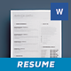 Simple Resume/Cv Volume 5 - GraphicRiver Item for Sale
