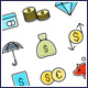 Money Finance Icons Set - GraphicRiver Item for Sale