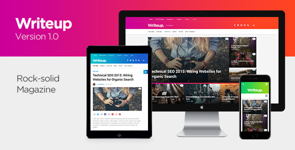 Writeup – Responsive WordPress Magazine Theme