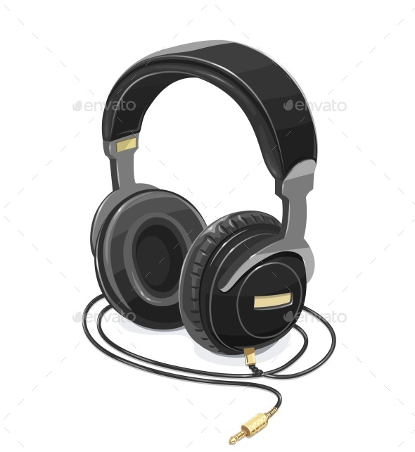 Headphones for Listen Music - Man-made Objects Objects