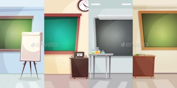 Education Vertical Banners - Miscellaneous Vectors
