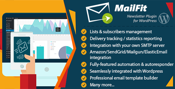 MailFit - Newsletter Plugin for Wordpress - CodeCanyon Item for Sale