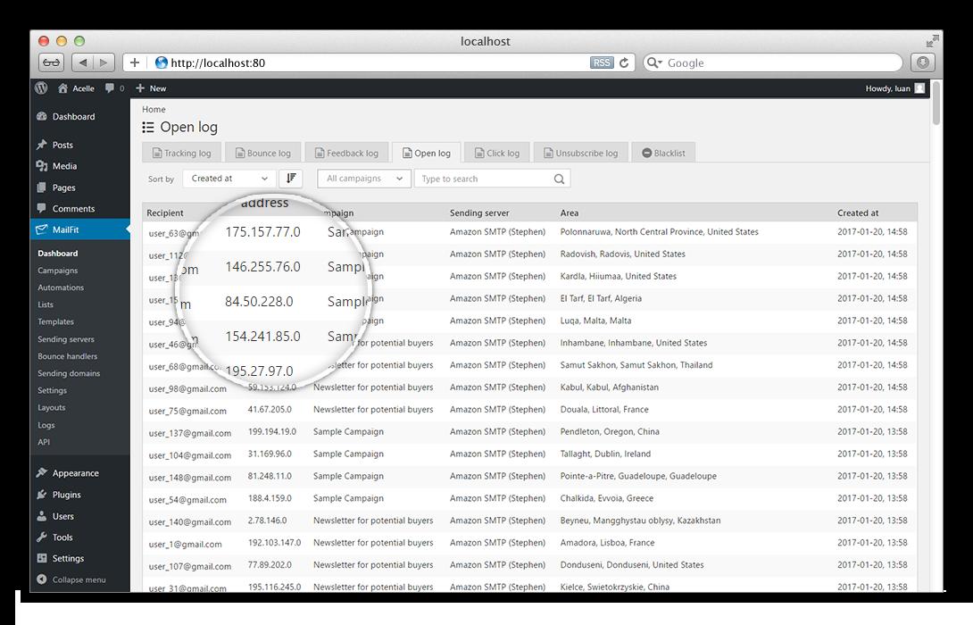 mailfit newsletter plugin for wordpress - Lawson Hris System