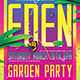 Garden Party Flyer Template - GraphicRiver Item for Sale