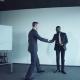 Two Businessman Doing Presentation