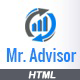 Mr Advisor - Consulting, Business, Finance And Accounting Template