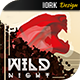 Wild Night flyer - GraphicRiver Item for Sale