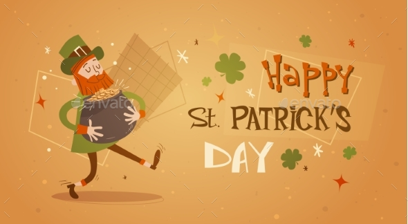 Happy Patrick Day Festival Beer Holiday Poster - Miscellaneous Seasons/Holidays