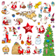 Cartoon Christmas Elements Set - GraphicRiver Item for Sale