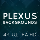 Plexus Background Pack 4K - VideoHive Item for Sale