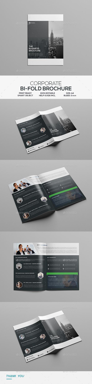 Corporate Bifold Brochure - Corporate Brochures