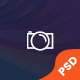 Creative Photographer PSD Template