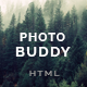 PhotoBuddy - Photography, Portfolio, Gallery, Minimal HTML Template - ThemeForest Item for Sale