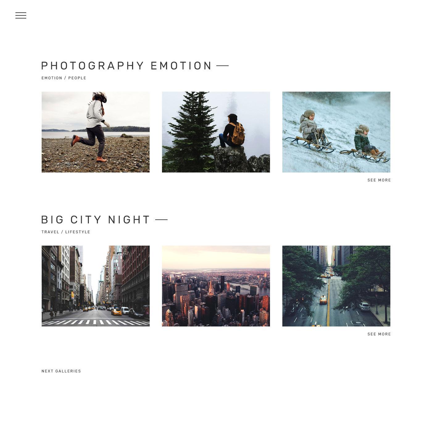 Photobuddy Photography Portfolio Gallery Minimal Html Template